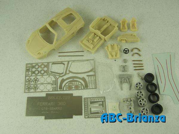 Коллекционные авто модели в масштабе 1 87 ABC-Brianza