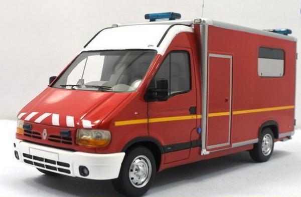 Модель 1:43 Renault master type 2 gifa vsab alert ambulance