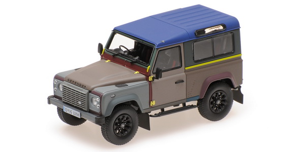 Модель 1:43 Land Rover Defender 90 PAUL SMITH EDITION 2015