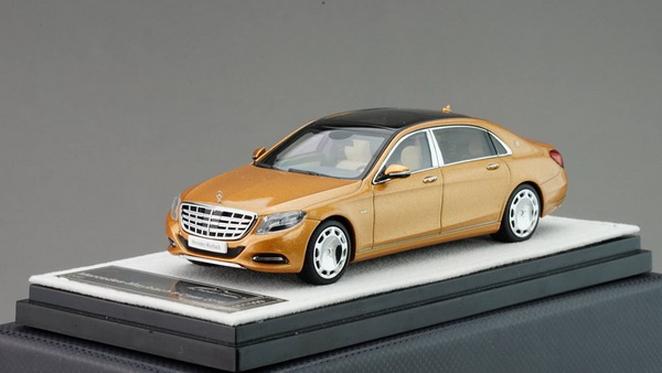 Модель 1:43 Mercedes-Benz S-Class S 600 Maybach V12 Biturbo - gold (L.E.999pcs)