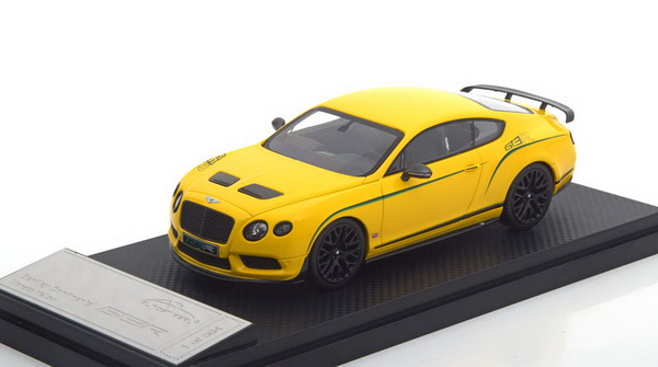 Модель 1:43 Bentley Continenal GT3-R - yellow