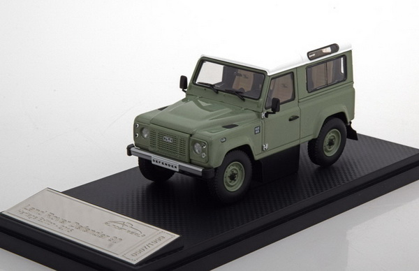 Модель 1:43 Land Rover Defender 90 Heritage Edition - green/white (L.E.1999pcs)