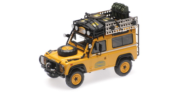 Land Rover Defender 90 Camel Trophy Borneo 1985 Gift Box 1:43 Almost Real