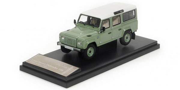Модель 1:43 LAND ROVER DEFENDER 110 HERITAGE EDITION - 2015 - GREEN