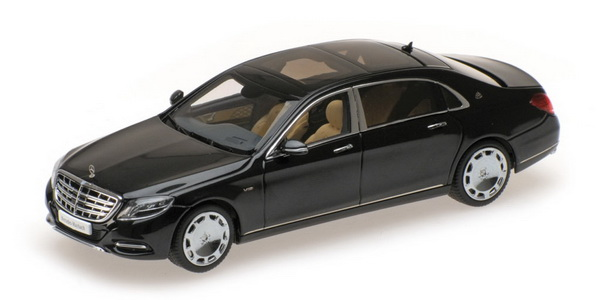 Модель 1:43 Mercedes-Benz S-Class S600 Maybach V12 Biturbo - obsidian black (L.E.1506pcs)