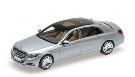 Модель 1:43 Mercedes-Benz S-Class S 600 Maybach V12 Biturbo - iridium silver (L.E.504pcs)