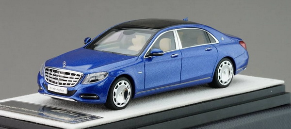 Модель 1:43 Mercedes-Benz S-Class S 600 Maybach V12 Biturbo - blue (L.E.999pcs)