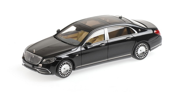 Модель 1:43 Mercedes-Maybach S 650 (W222) рестайлинг - obsidian black (L.E.999pcs)
