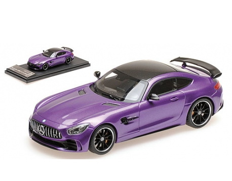Модель 1:43 Mercedes-Benz GT-R AMG V8 Biturbo - PURPLE CARBON