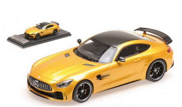 Модель 1:43 Mercedes-Benz GT-R AMG V8 Biturbo - YELLOW SOLARBEAM MET CARBON