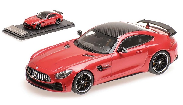 Модель 1:43 Mercedes-AMG GT R - red met