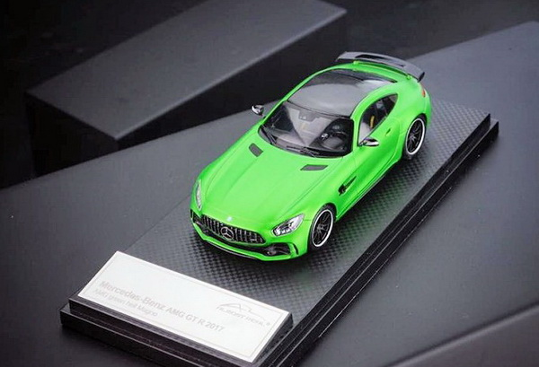 Модель 1:43 Mercedes-Benz GT-R AMG - green