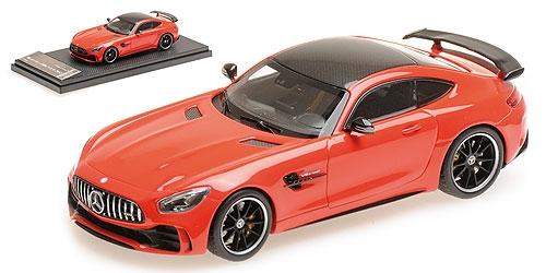 Модель 1:43 Mercedes GT-R AMG V8 Biturbo - red