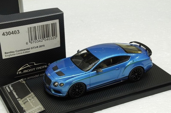 Модель 1:43 Bentley Continenal GT3-R - blue