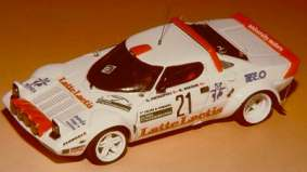 Модель 1:43 Lancia Stratos Gr.4 LACTIS COLLancia ROM. KIT