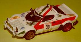 Модель 1:43 Lancia Stratos Gr.4 TRICOLancia MESSINA KIT
