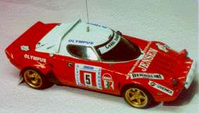 Модель 1:43 Lancia Stratos Gr.4 Team GOBBI `81/82 KIT