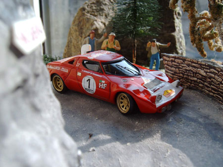 Модель 1:43 Lancia Stratos Gr.4 COSTA DEL SOL KIT