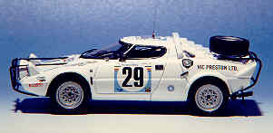Модель 1:43 Lancia Stratos №29 Gr.4 Safari-Rally (PRESTON) KIT