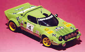Модель 1:43 Lancia Stratos Gr.4 COSTA BRAVA KIT