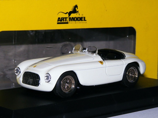 Модель 1:43 Ferrari 166 MM Spider white