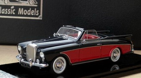Модель 1:43 Bentley SI Riviera Honeymoon Express - black/red