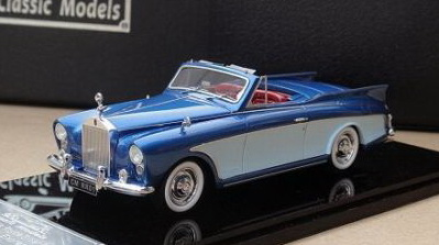 Модель 1:43 Rolls-Royce Silver Cloud Honeymoon Express - 2-tones blue