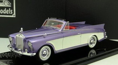 Модель 1:43 Rolls-Royce Silver Cloud Honeymoon Express - lavender/white