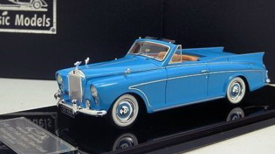 Модель 1:43 Rolls-Royce Silver Cloud Honeymoon Express - blue
