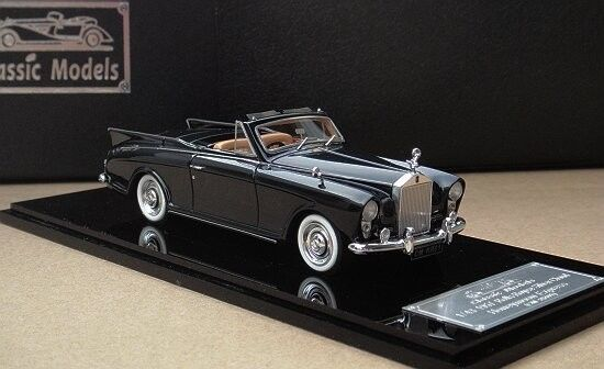 Модель 1:43 Rolls-Royce Silver Cloud Honeymoon Express - black