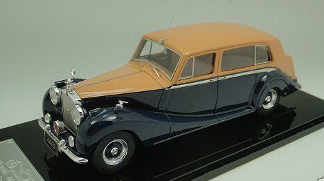 Модель 1:43 Rolls-Royce Phantom IV H.J.Mulliner Limousine 6 light saloon Ch.№4AF8 HH Abdullah III Al-Sal - orange biscuit/royal blue