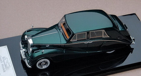 Модель 1:43 Bentley R-Type Hooper Empress Style Saloon - green met