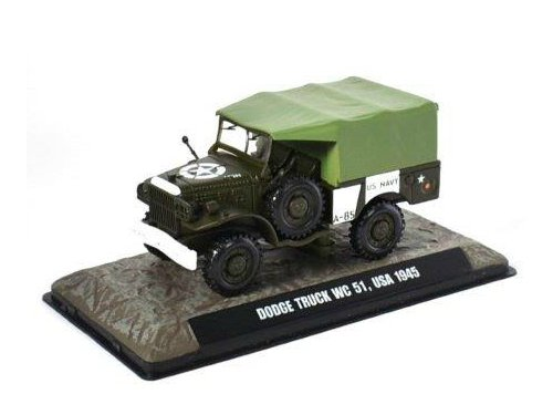 Модель 1:43 Dodge WC51 3/4 4x4 US NAVY 1945