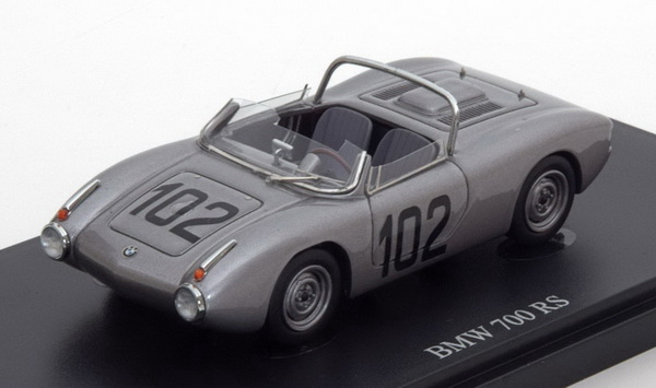 Модель 1:43 BMW 700 RS No,102 1961 - silver
