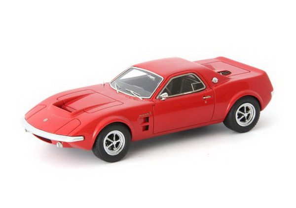 Модель 1:43 Ford Mach 2 Concept (USA) - red (L.E.333pcs)