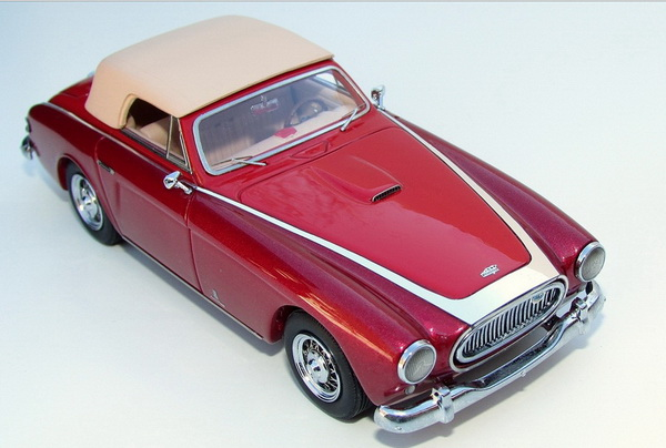 Модель 1:43 Cunningham C-3 Cabrio Tribute Edition hand-signed by the Cunningham Family - 2-tones red