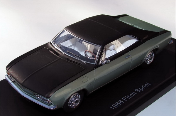 Модель 1:43 Fitch Sprint Willow (John Fitch enhanced Chevrolet Corvair Corsa Coupe) - Green