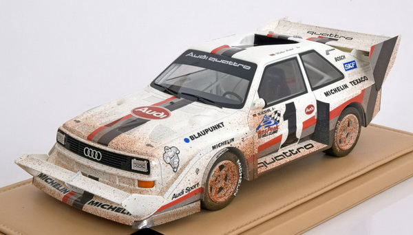 Модель 1:18 Audi Quattro S1 №1 Winner Pikes Peak Hill Climb (R?hrl) Dirty Version