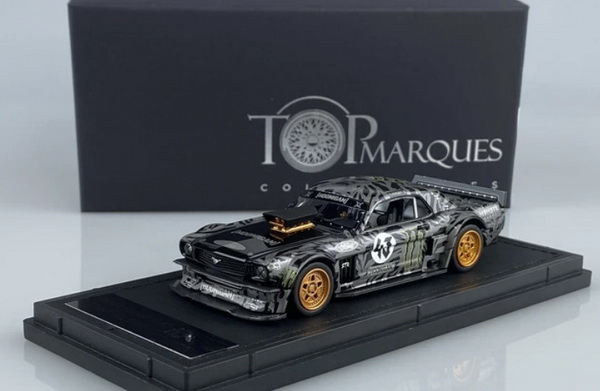 Модель 1:43 Ford Mustang 1965 HOONIGAN №43 Coupe (KEN BLOCK) (L.E.500pcs)
