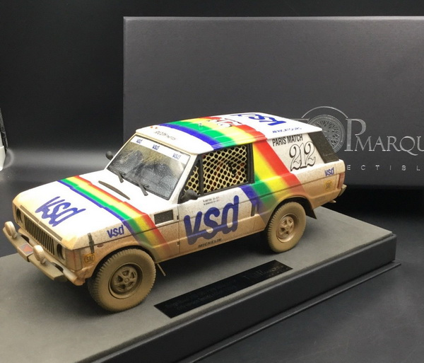 Модель 1:18 RANGE ROVER N 212 VSD WINNER RALLY PARIS DAKAR 1981 R.METGE - B.GIROUX - DIRTY VERSION