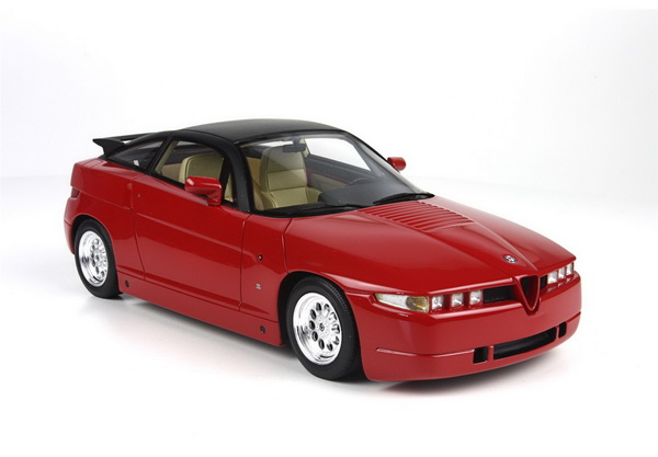 Модель 1:18 Alfa Romeo SZ - red