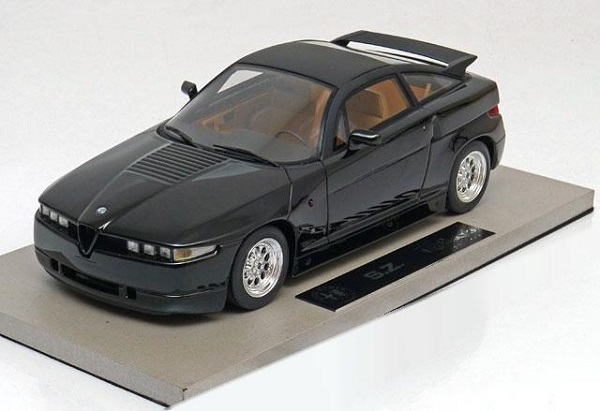 Модель 1:18 Alfa Romeo SZ - black engineered by BBR
