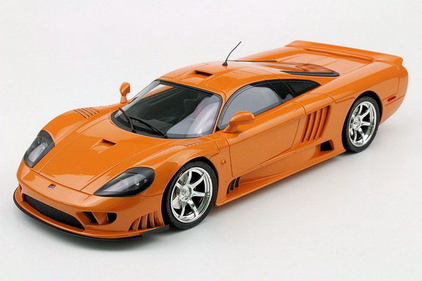 Модель 1:18 SALEEN S7 TWIN Turbo - orange