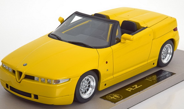 Модель 1:18 Alfa Romeo RZ Roadster 1992-1993 - yellow
