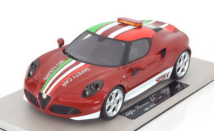 Модель 1:18 Alfa Romeo 4C SBK Safety Car 2014