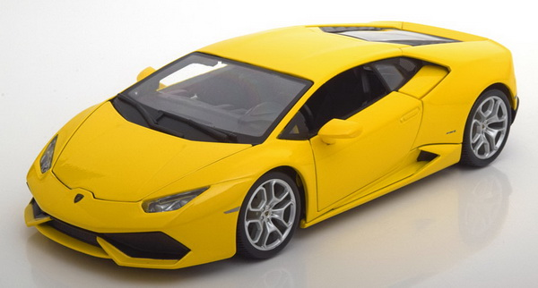 Модель 1:18 Lamborghini Huracan LP610-4 2014 - Yellow