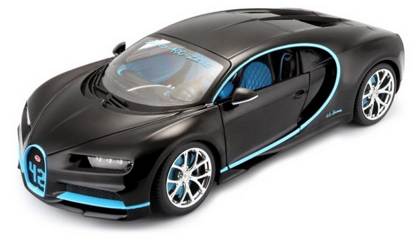 Модель 1:18 Bugatti Chiron 42 Second Edition