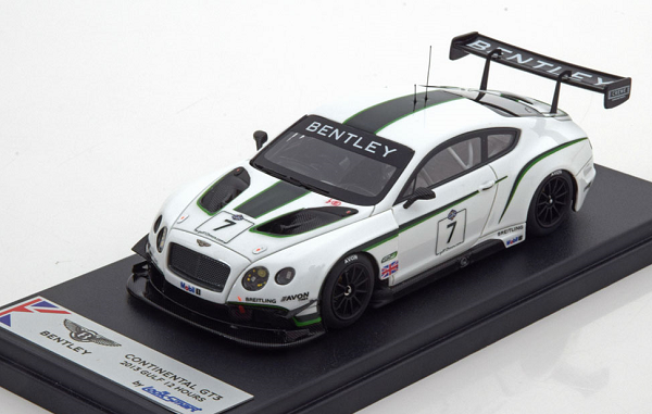 Модель 1:43 Bentley Continental GT3 №7 12h Gulf