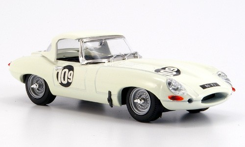 Модель 1:43 Jaguar E Spider Brands-Hatch T. Atkins