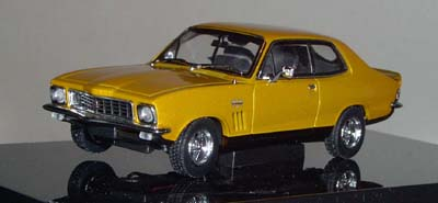 Модель 1:43 Holden LJ TORANA GTR XU1 ~SUNBURST~ GOLD METALLIC